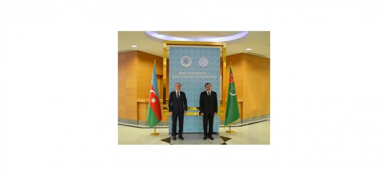 AZERBAÝJAN RESPUBLIKASYNYŇ DAŞARY IŞLER MINISTRINIŇ TÜRKMENISTANA SAPARY