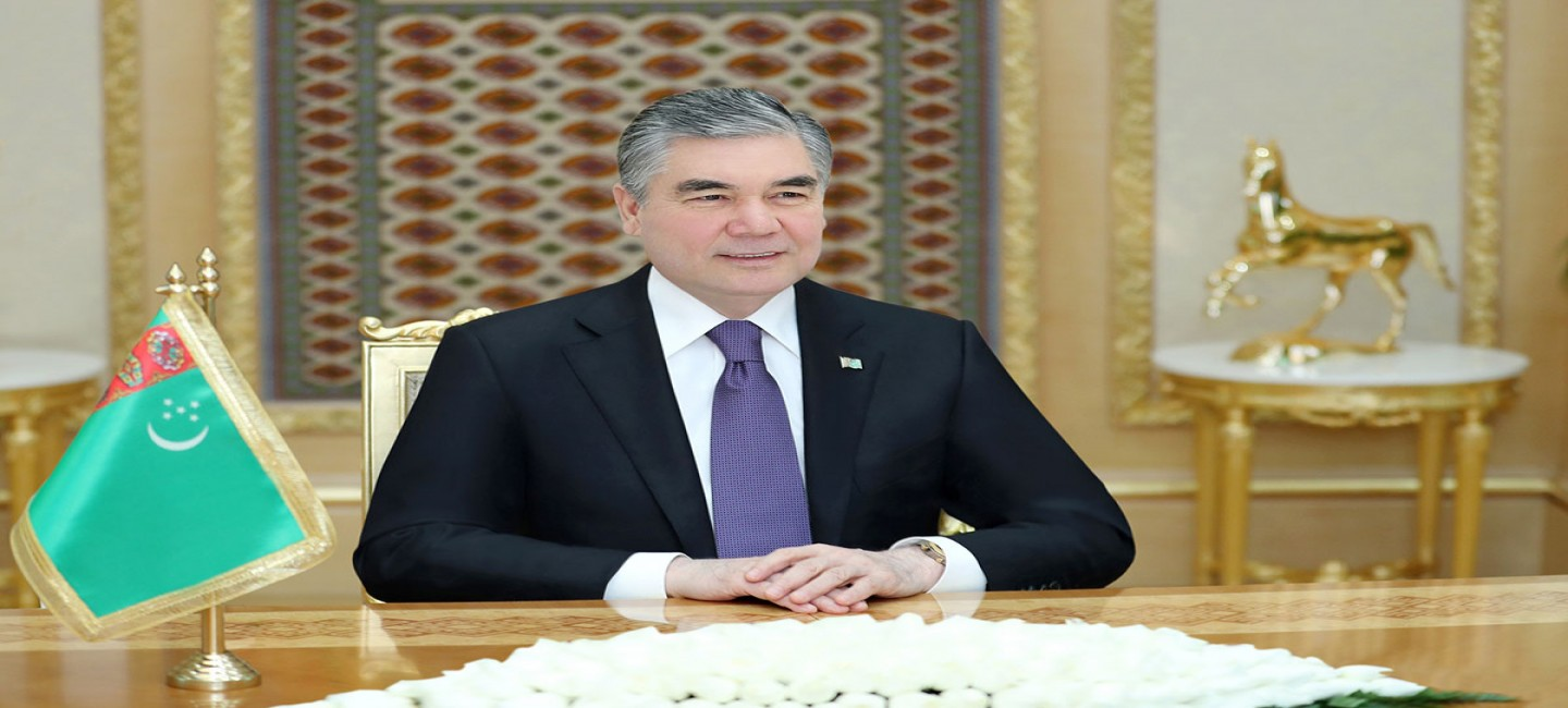 President of Turkmenistan receives Governor of Saint Petersburg