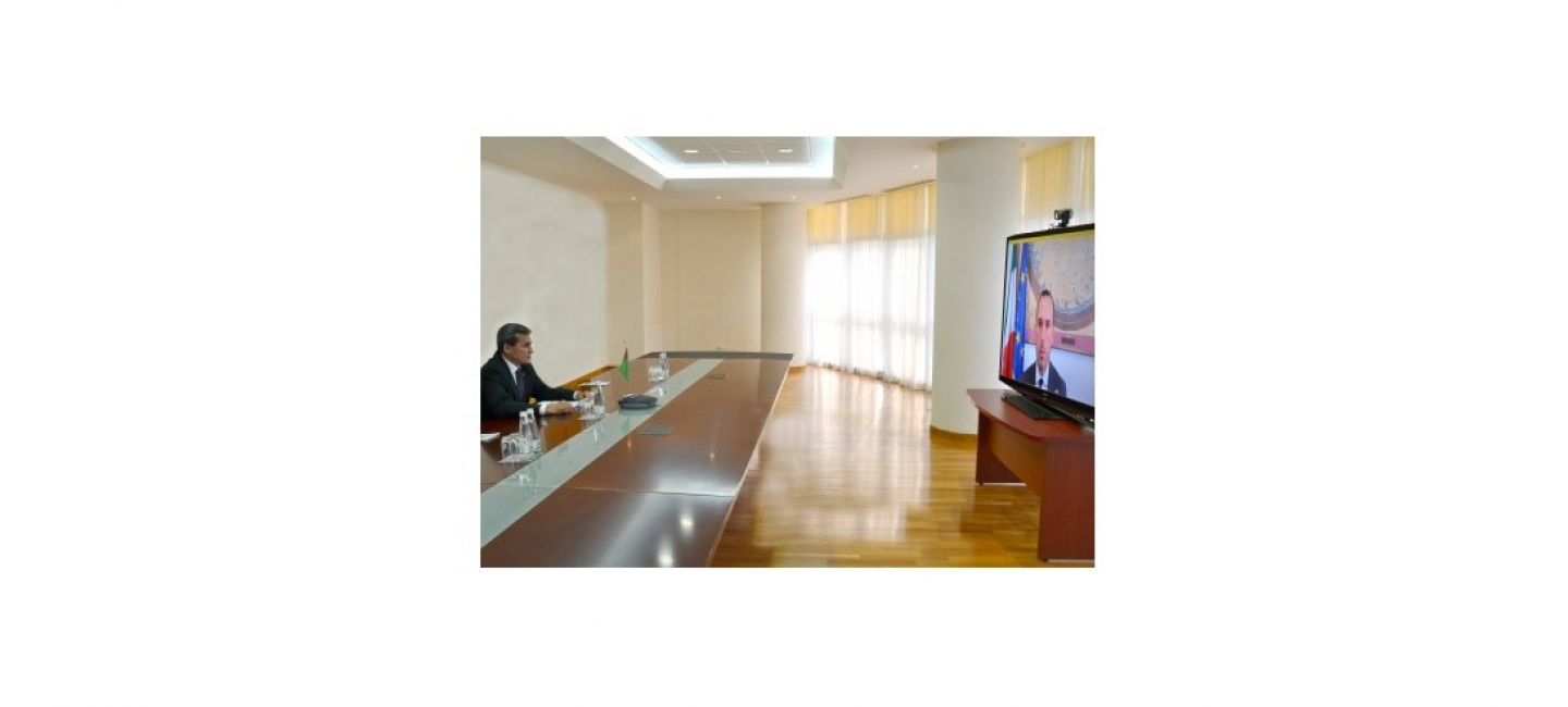 NEGOTIATIONS BETWEEN THE HEADS OF FOREIGN POLICY AGENCIES OF TURKMENISTAN AND ITALY TOOK PLACE