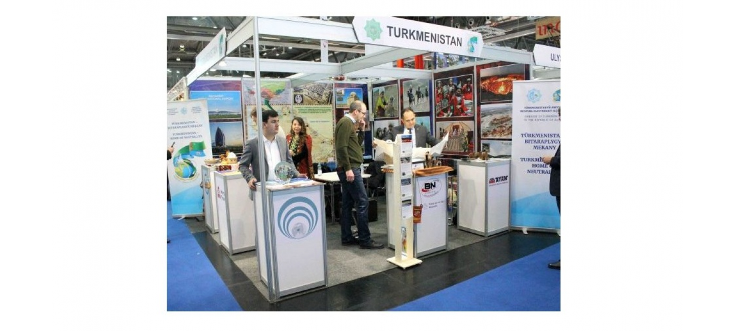 TURKMENISTAN TAKES PART IN THE INTERNATIONAL TOURISM EXHIBITION IN AUSTRIA
