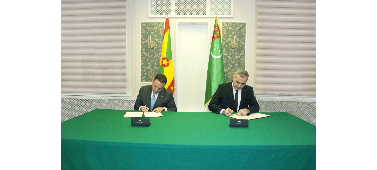 DIPLOMATIC RELATIONS ESTABLISHED BETWEEN TURKMENISTAN AND GRENADA