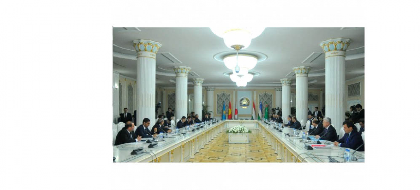 """REGULAR FOREIGN MINISTERS' MEETING OF THE """"CENTRAL ASIA PLUS JAPAN"""" DIALOGUE TOOK PLACE IN DUSHANBE"""